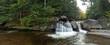 Screw Auger Falls near Grafton Notch, Maine USA 2016