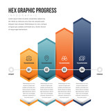 Hex Graphic Progress