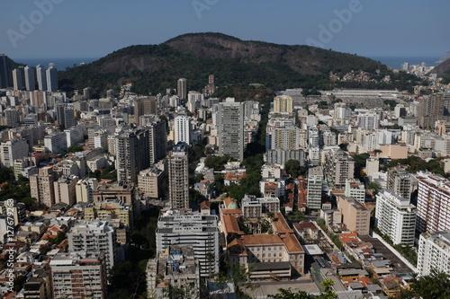 Poster Centre-ville de Rio de Janeiro, Brésil