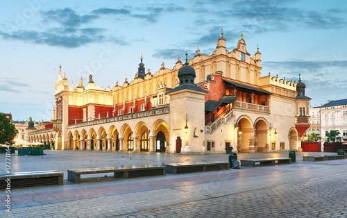 Fototapety, obrazy : Krakow Market Square, Poland