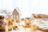 Fototapety White Christmas decoration