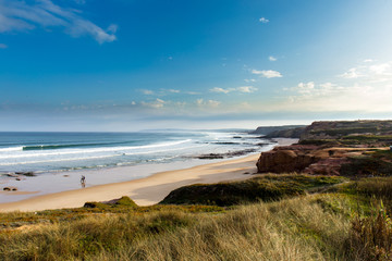 Fototapeta plaża w Portugalii o poranku