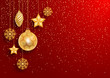 Detaily fotografie Festive Christmas Background