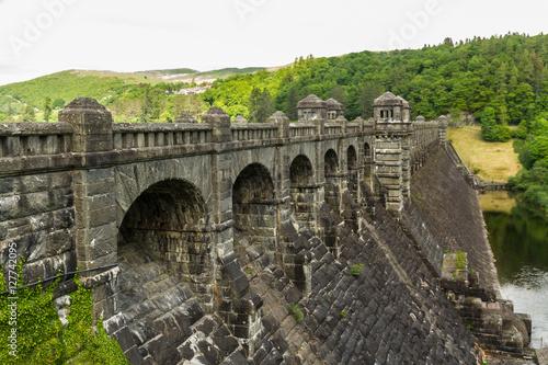 Poster Lake Vyrnwy reservoir dam