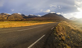 highland road in iceland, road no 1