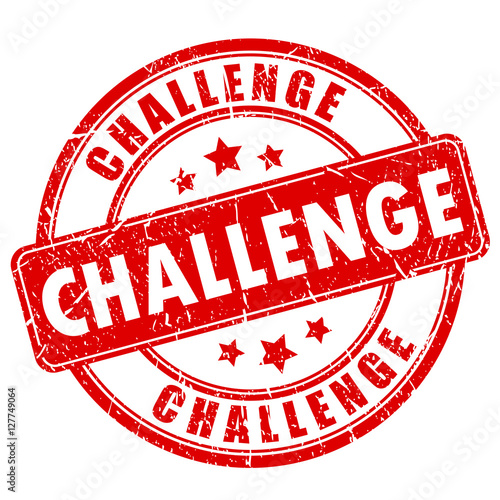 Challenge rubber stamp