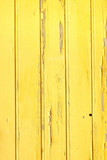 Vertical Barn Wooden Wall Plank Yellow Texture. Rustic Wood Back