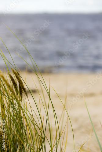 Leinwanddruck Bild Strand Knock in Emden an der Ems