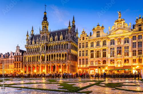 Foto op Canvas Brussel Bruxelles, Belgium - Grand Place