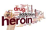 Heroin word cloud
