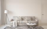 Living-room interior. 3d rendering. - 127816428