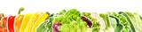 Gemüse und Salat - Panorama