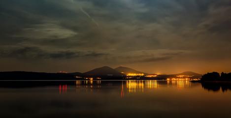 Fototapeta zachód słońca nad Chorwacją
