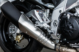 details of motorcycle, Motorbike into deep, - 127866816