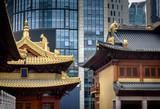 Jingan Temple Shanghai,China Asia