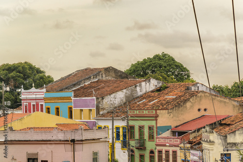 Plakat Colonial Style Architecture Olinda Brazil