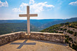 Island of Brac viewpoint above canyon