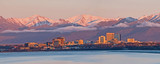 Fototapeta Anchorage Alaska Skyline