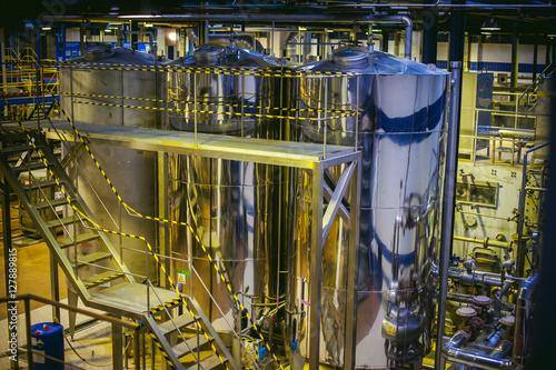 Beer production line Poster