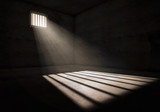 Light in prison cell - 127907251