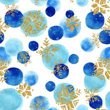Abstract winter naadloos patroon