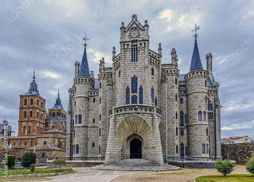 Póster Astorga Epsiscopal Palace