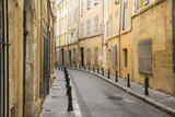 Aix en provence and the narrow street