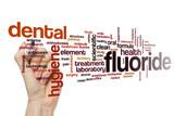 Fluoride word cloud