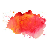 Fototapety Abstract vector watercolor background.
