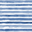 Materiał do szycia Watercolor seamless pattern with blue stripes. Repeat straight stripes texture background. Hand drawing pattern.