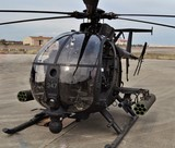 Special Forces AH-6 Little Bird Helicopter