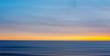 Blue Ocean Sunset
