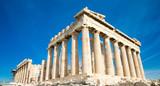 Parthenon on the Acropolis in Athens, Greece - 128006898