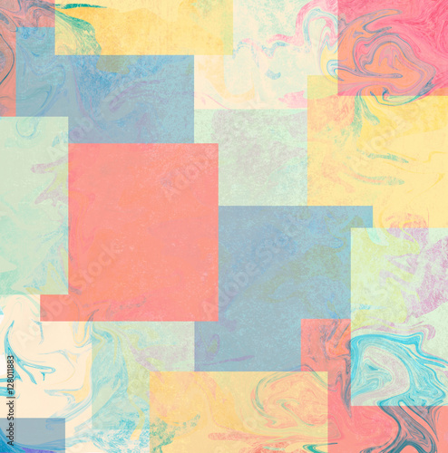 Fototapeta abstract color full