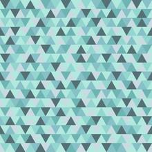 Modelo abstracto del triángulo de Navidad, azul gris de fondo de vacaciones de invierno geométrica