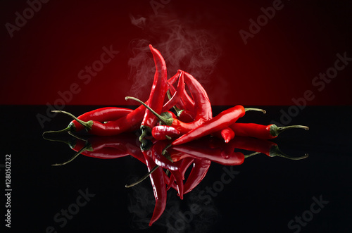 Poster  red chilli pepper