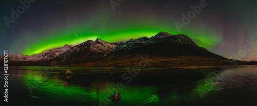 Fotobehang Noorderlicht Tromso Aurora Borealis