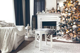 White Christmas interior