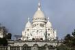 A Sacred Heart, Sacre Coeur, Paris,  France, Montmartre.