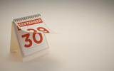 3d Rendering calendar illustration day