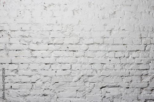 Poster Betonbehang grunge brick wall background