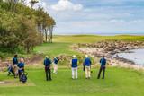 Scotish links golfcourse