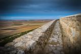 Pueblo medieval amurallado en Urueña España