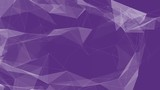 abstract plexus triangle loop background purple