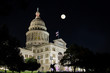 Purple Light 2016 event for Pancreatic Cancer at Texas Capitol on a full moon night in Austin. The event was hosted by the Pancreatic Cancer Action Network- Austin Affiliate.