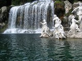 The waterfall and fountain of the royal palace of Caserta,  Vanvitelli architect, Campania, Italy - Diana e Atteone;
