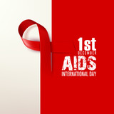 world AIDS / SIDA day the 1st december