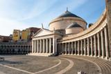 Piazza Plebiscito , Basilica di San Francesco di Paola, Naples, Italy