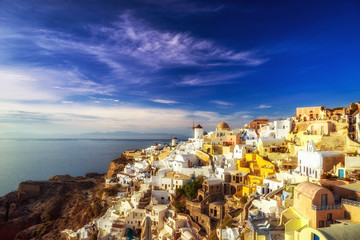 Fototapeta tradycyjna Grecka wioska