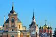 Постер, плакат: Москва купола храмов на улице Варварка